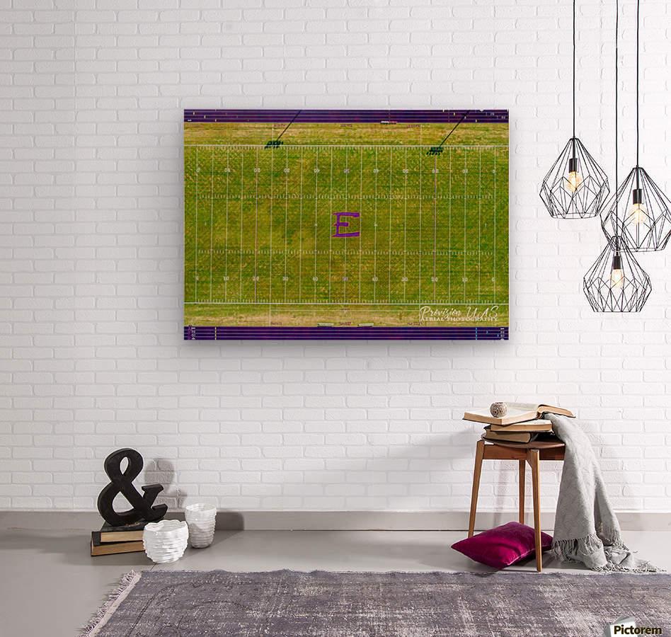 England, AR   Lions Football Field  Wood print