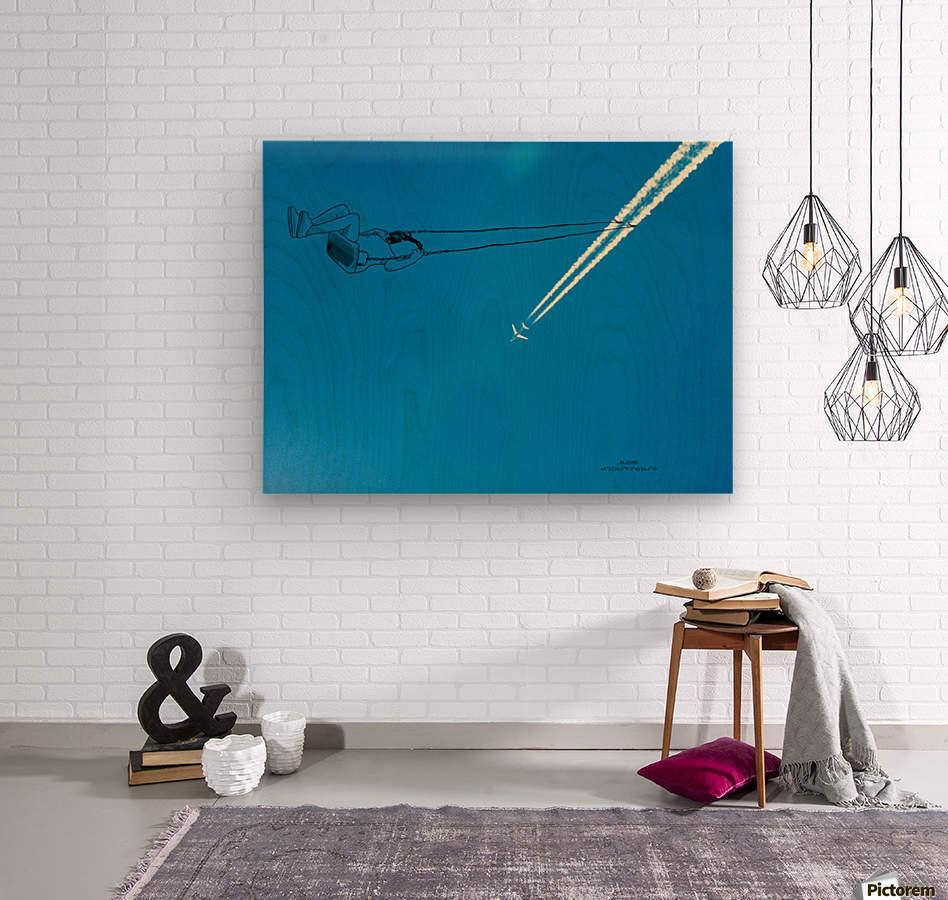 Swing  Wood print