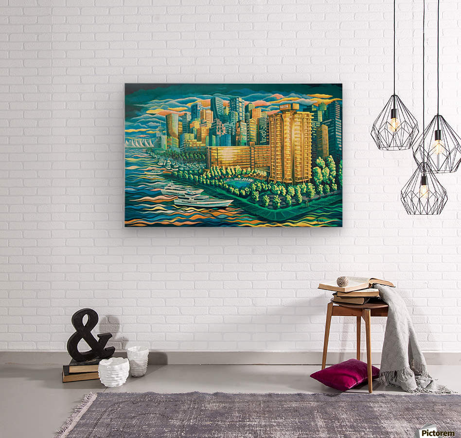 The Westin Bayshore Vancouver  Wood print