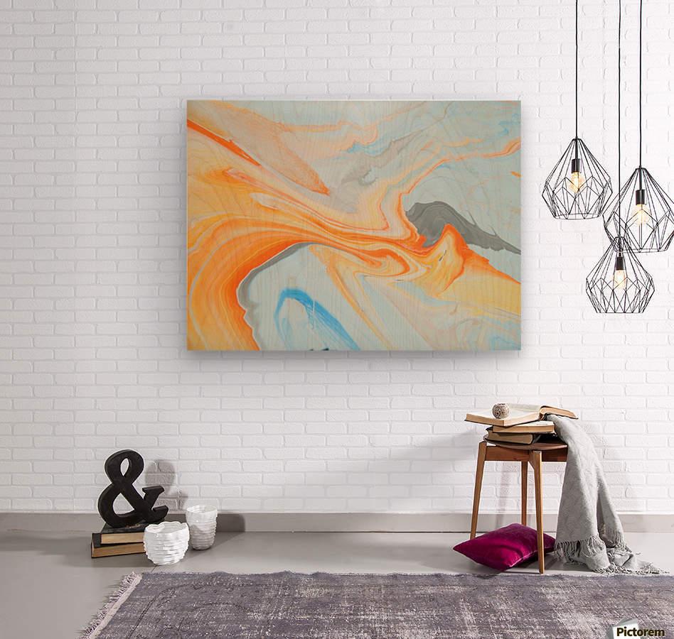 FIRESPEAR  Wood print
