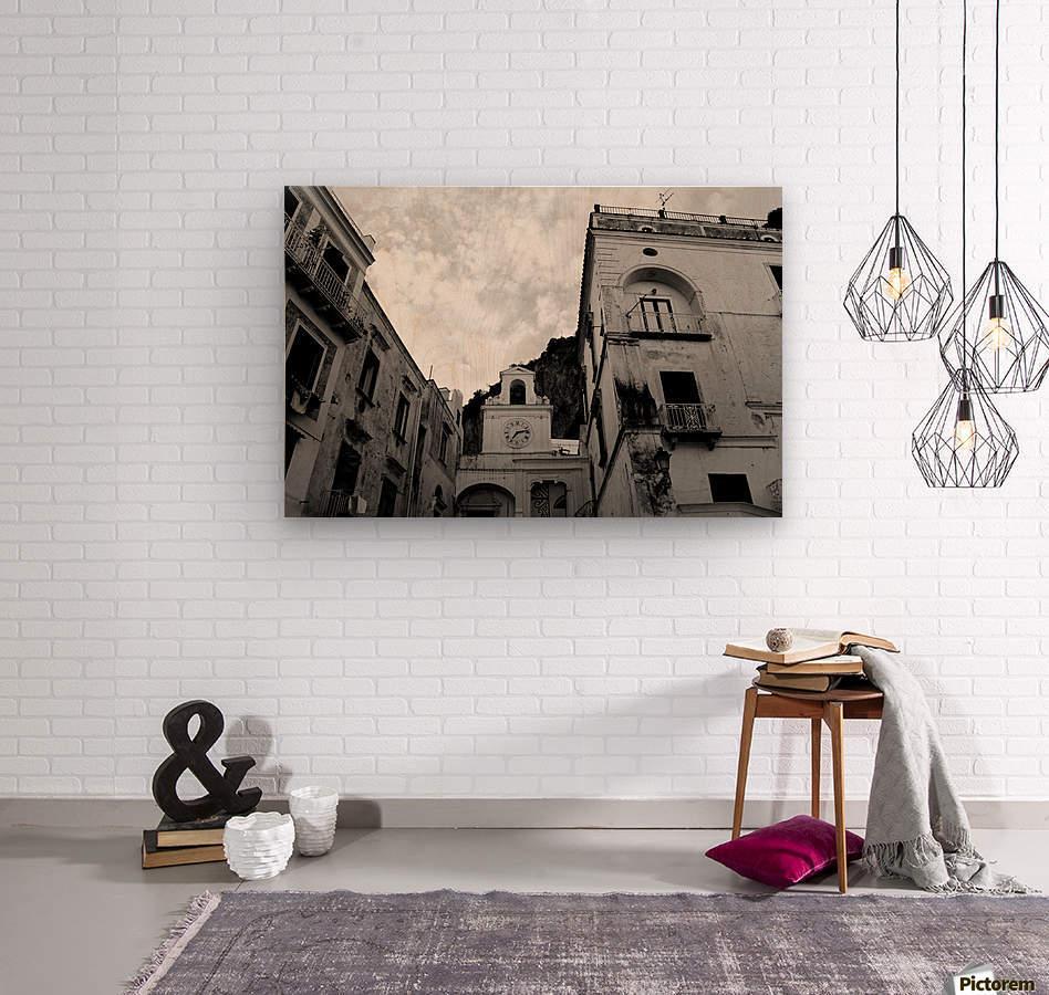 Atrani Village - Italy  Wood print
