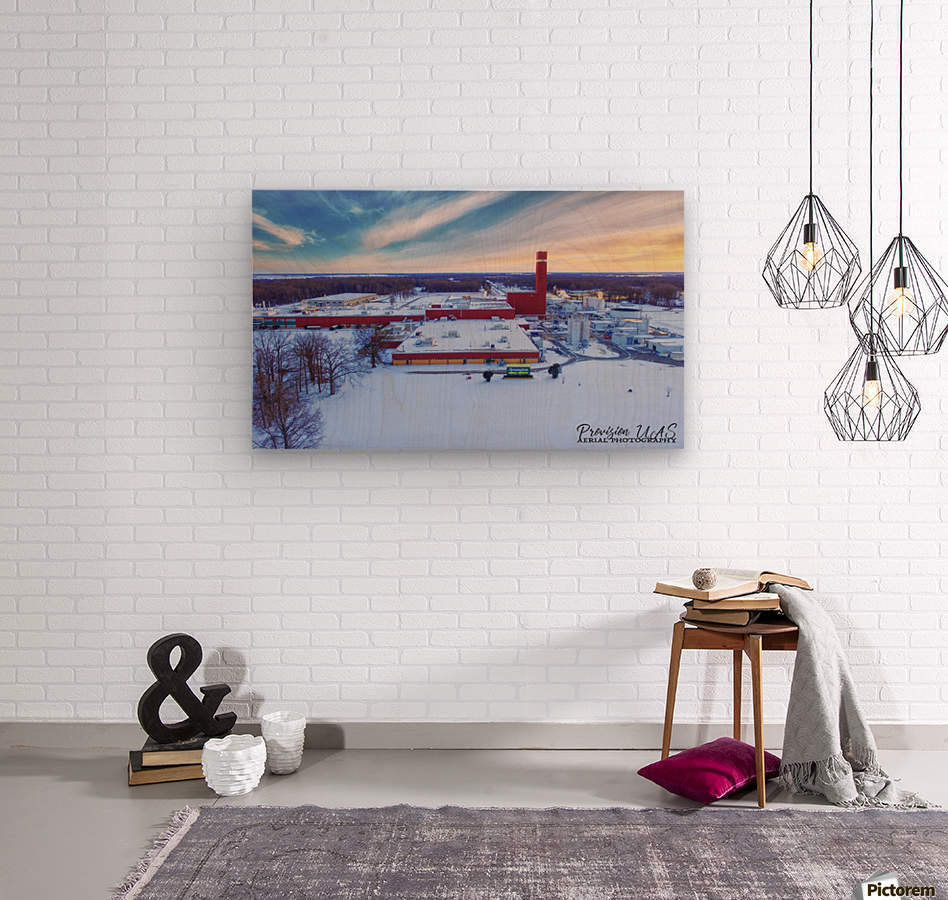 Lonoke, AR | Remington Winter  Wood print