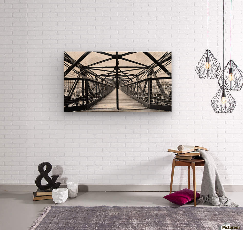 The Bridge - Spain  Wood print