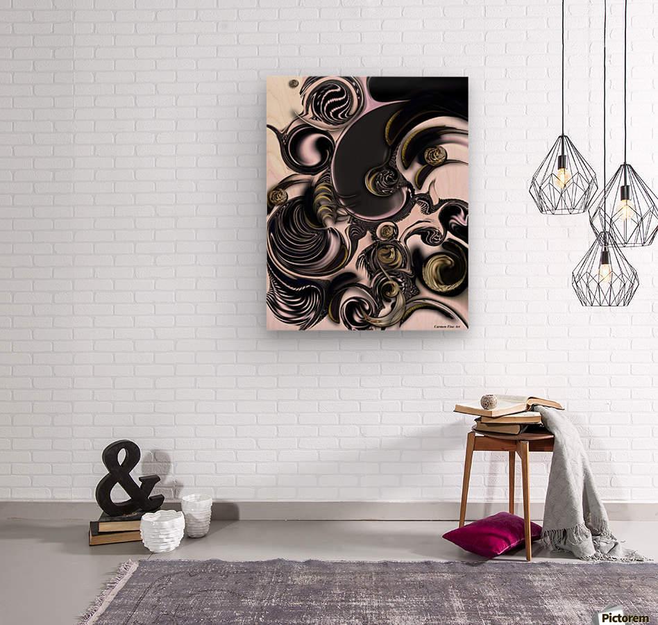 Reflecting Creation  Wood print