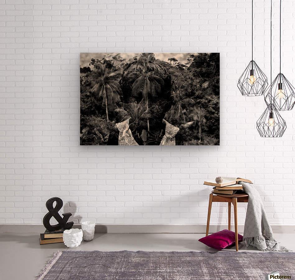 Guyana Child of the jungle   Wood print