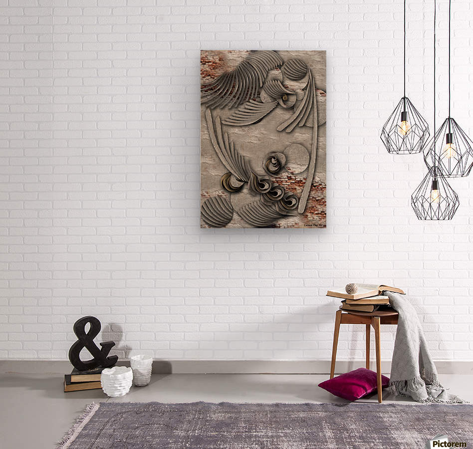 Bourgeoisie Creation  Wood print