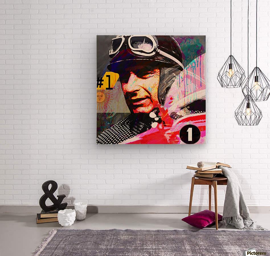 Fangio  Wood print