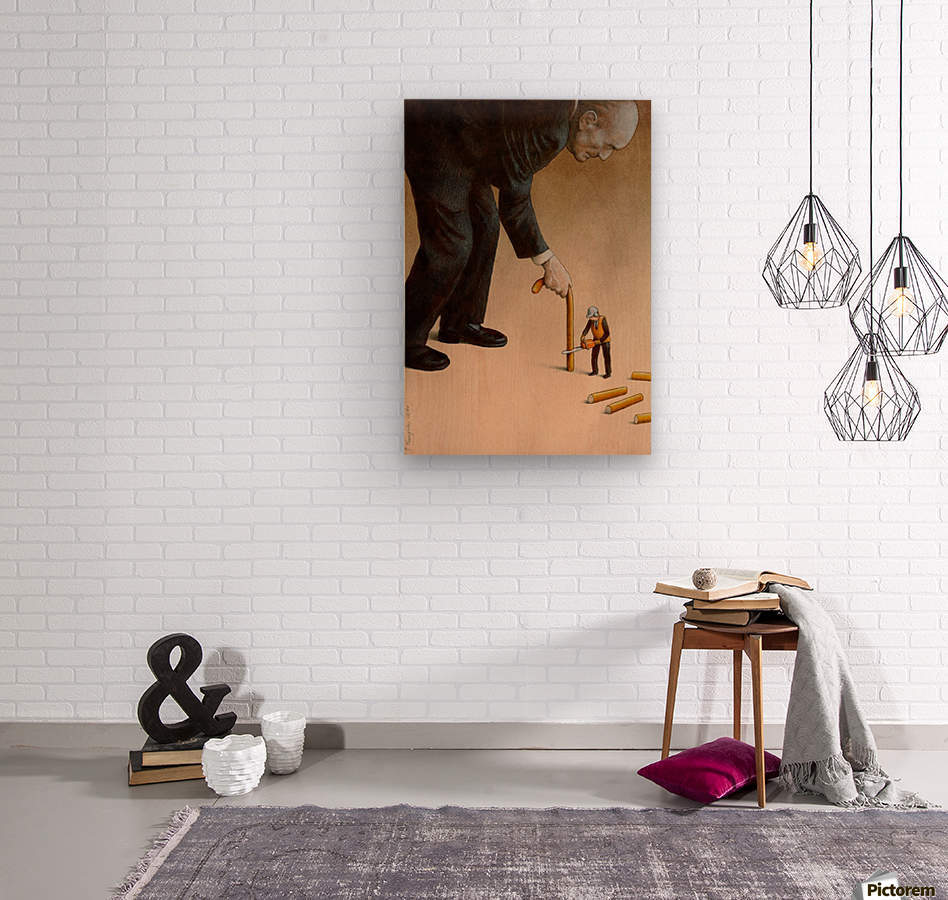 Cane  Wood print