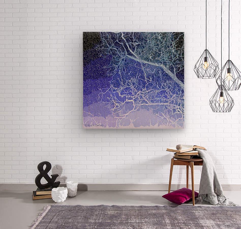 TreeBranches2  Wood print