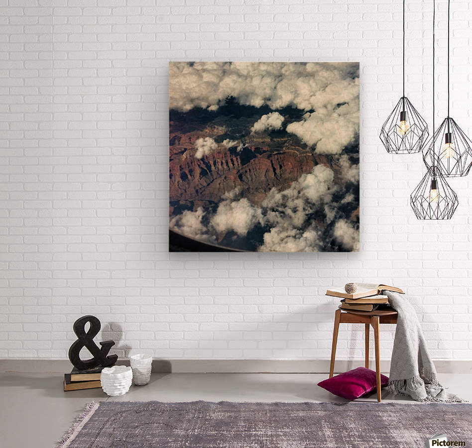 Arizona Canyons  Wood print