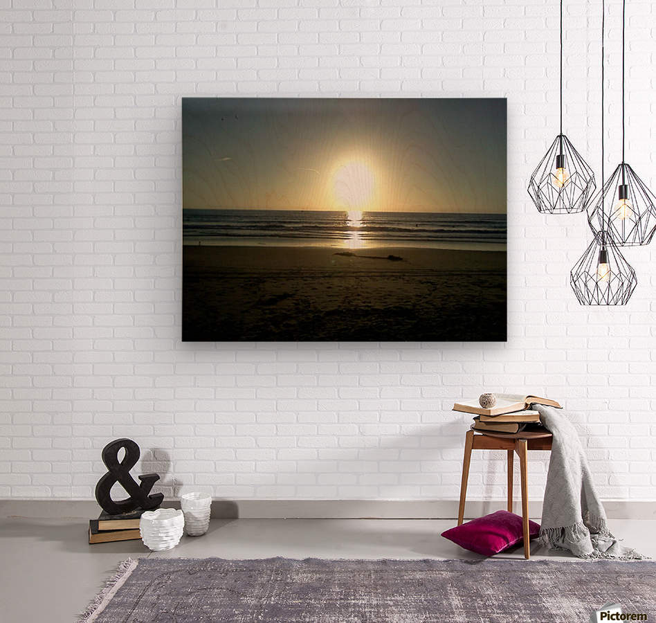 Oceanside, California  Wood print