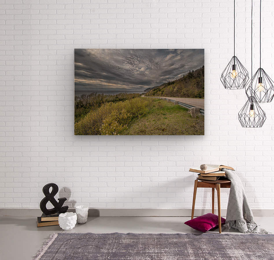 Springtime on the Cabot Trail  Wood print