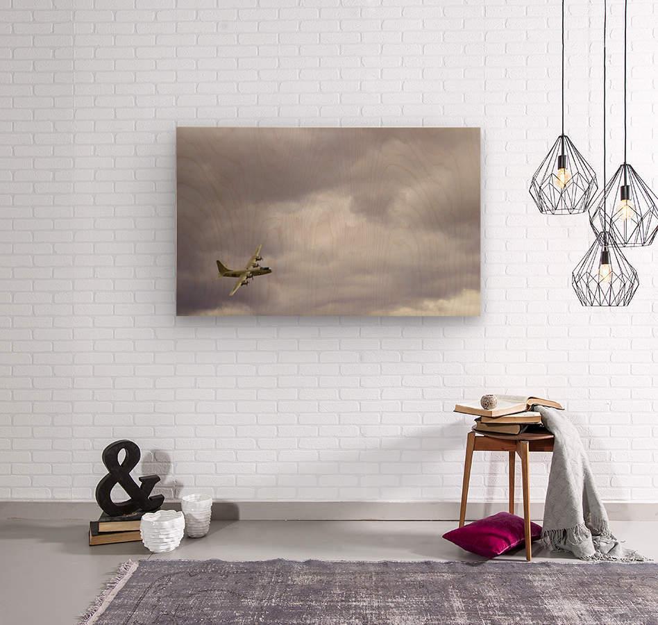 Flyingwarbird  Wood print