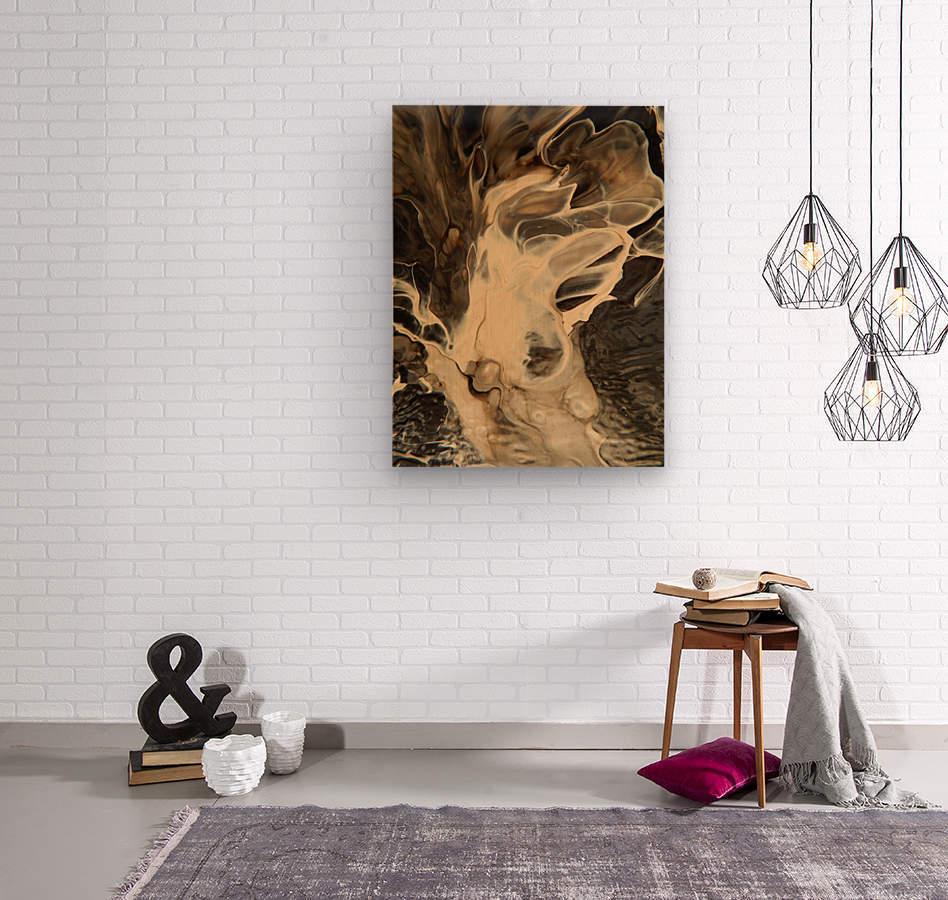 SMOKE ON WATER  Wood print