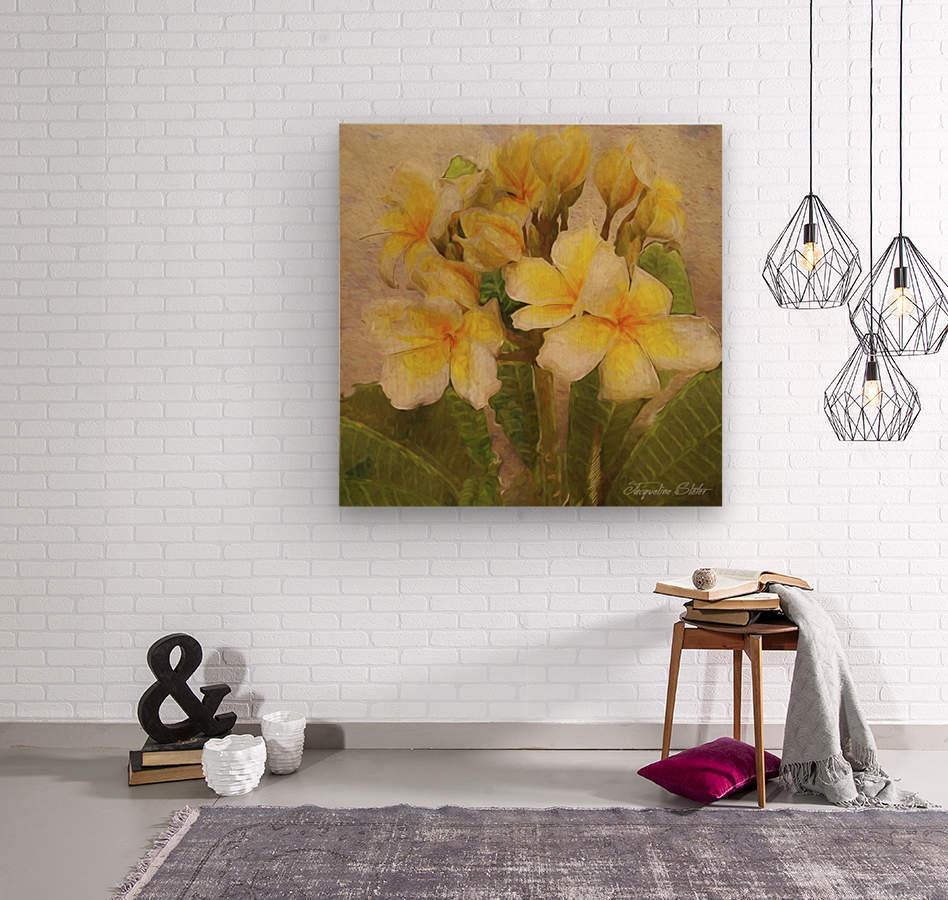 Floridian Bouquet  Wood print