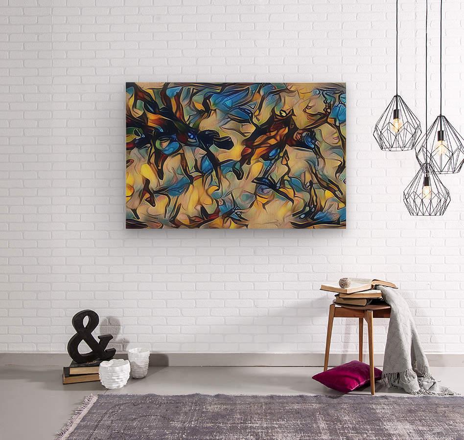 gubug  Wood print