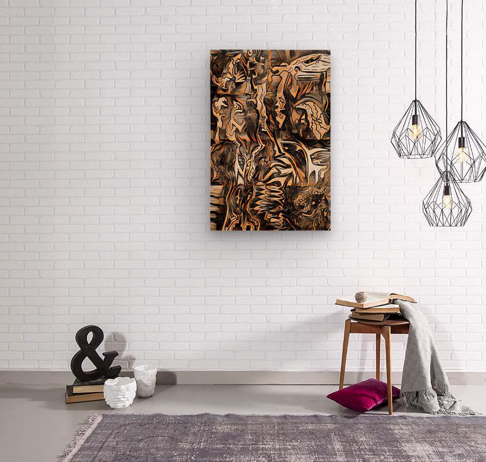 koab  Wood print