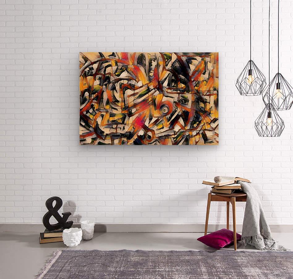 orvelle  Wood print
