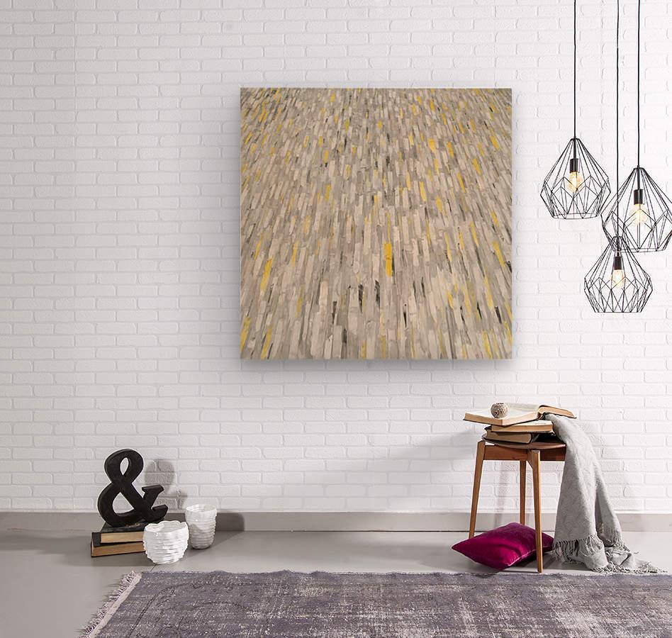 Rain of light  Wood print