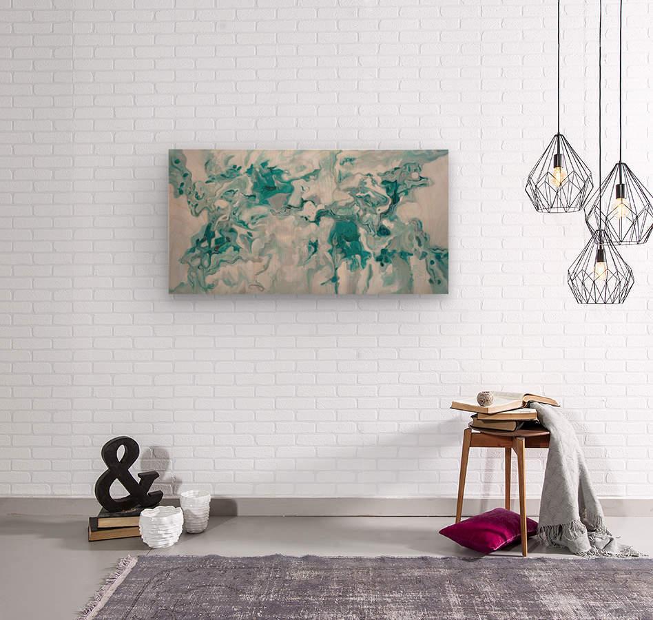 Arctic  Wood print