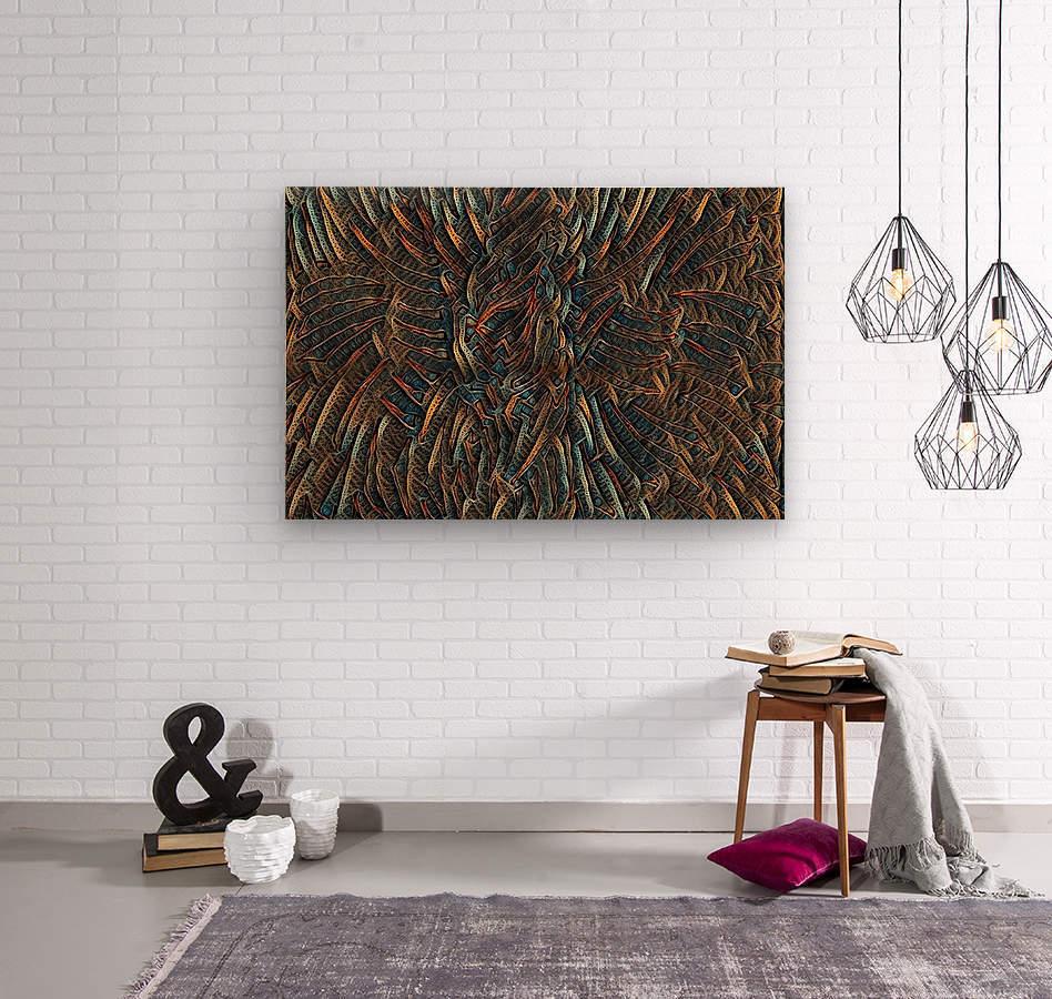 bezurro  Wood print