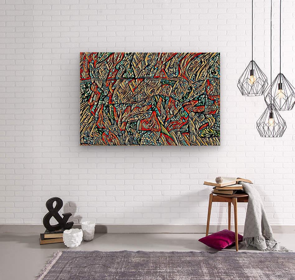 helios  Wood print