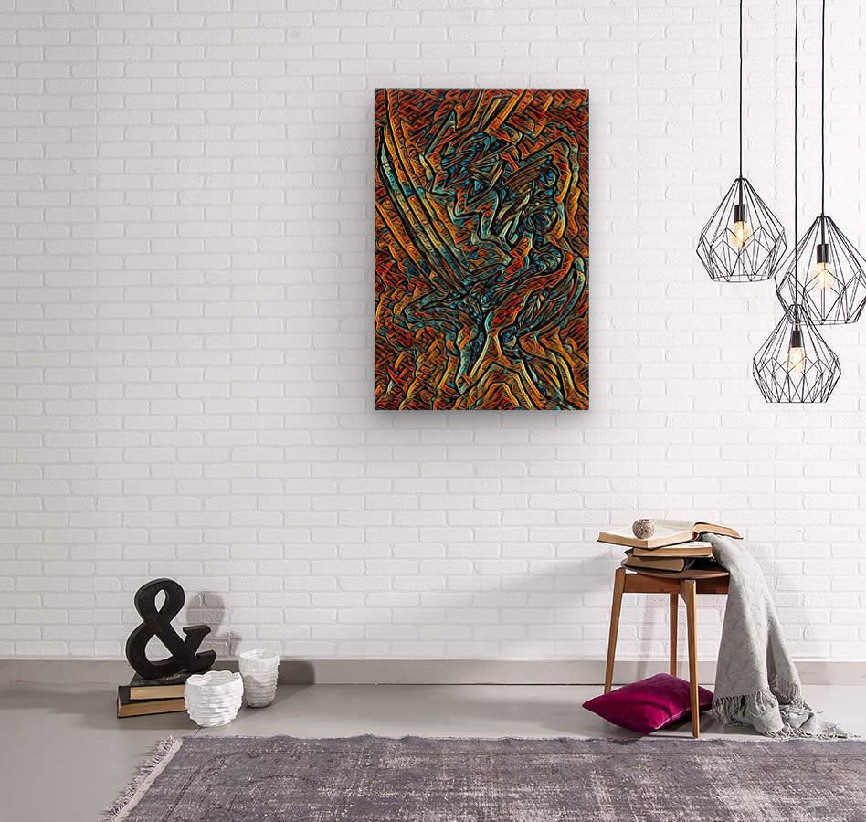 kanighkt   Wood print