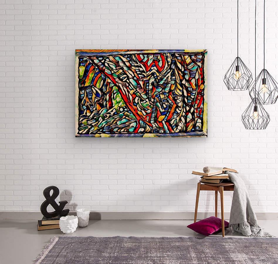 suvel   Wood print