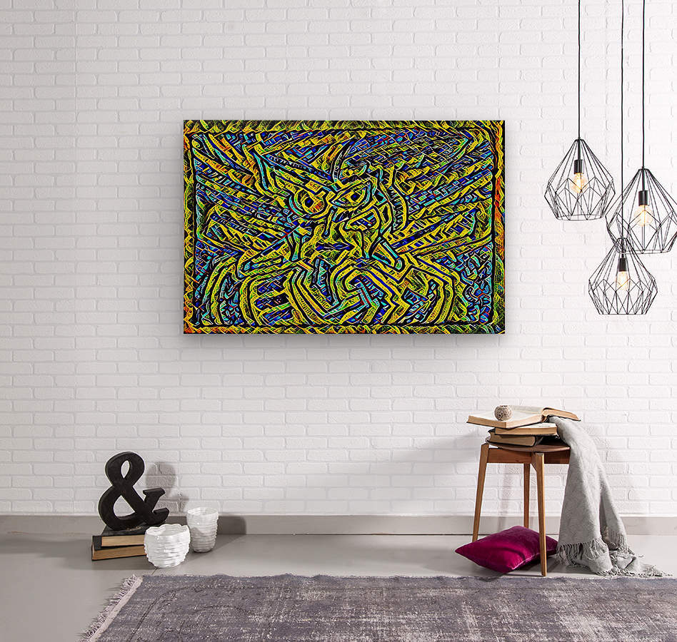 yilu   Wood print