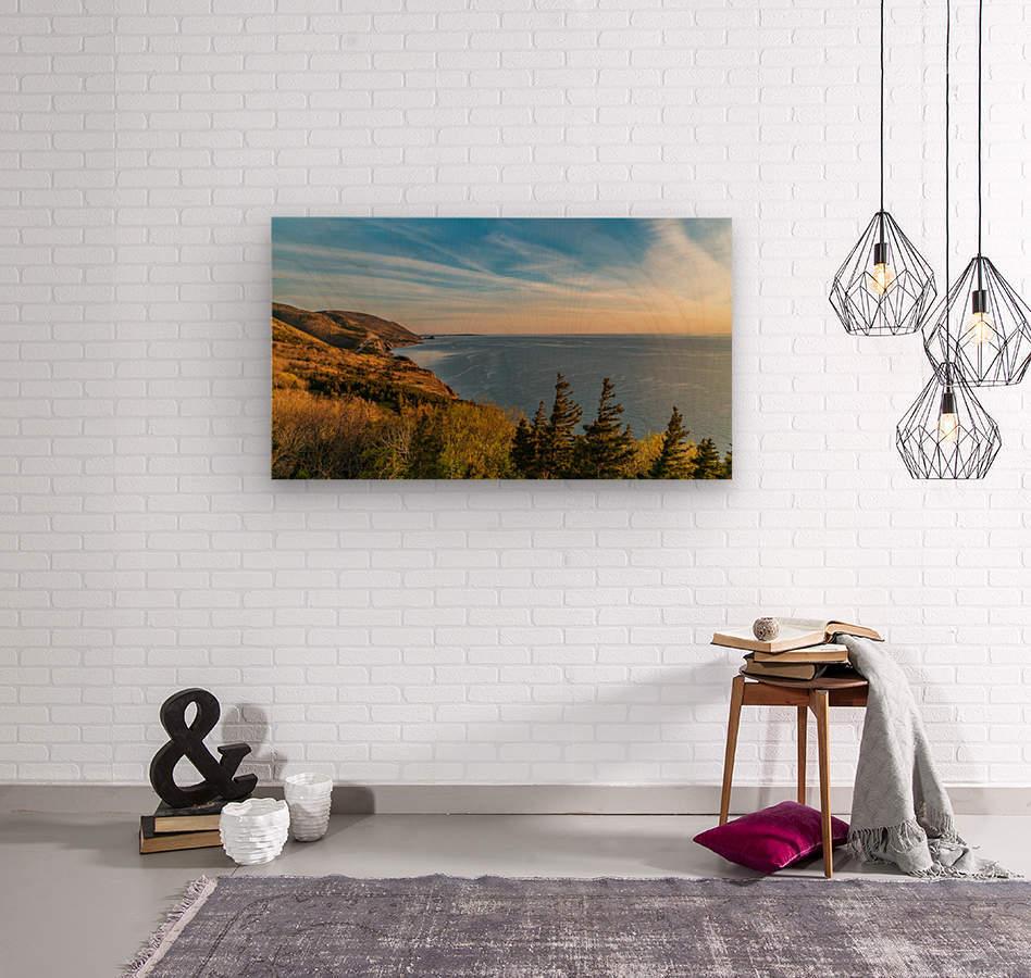 Coastal Pleasures  Wood print