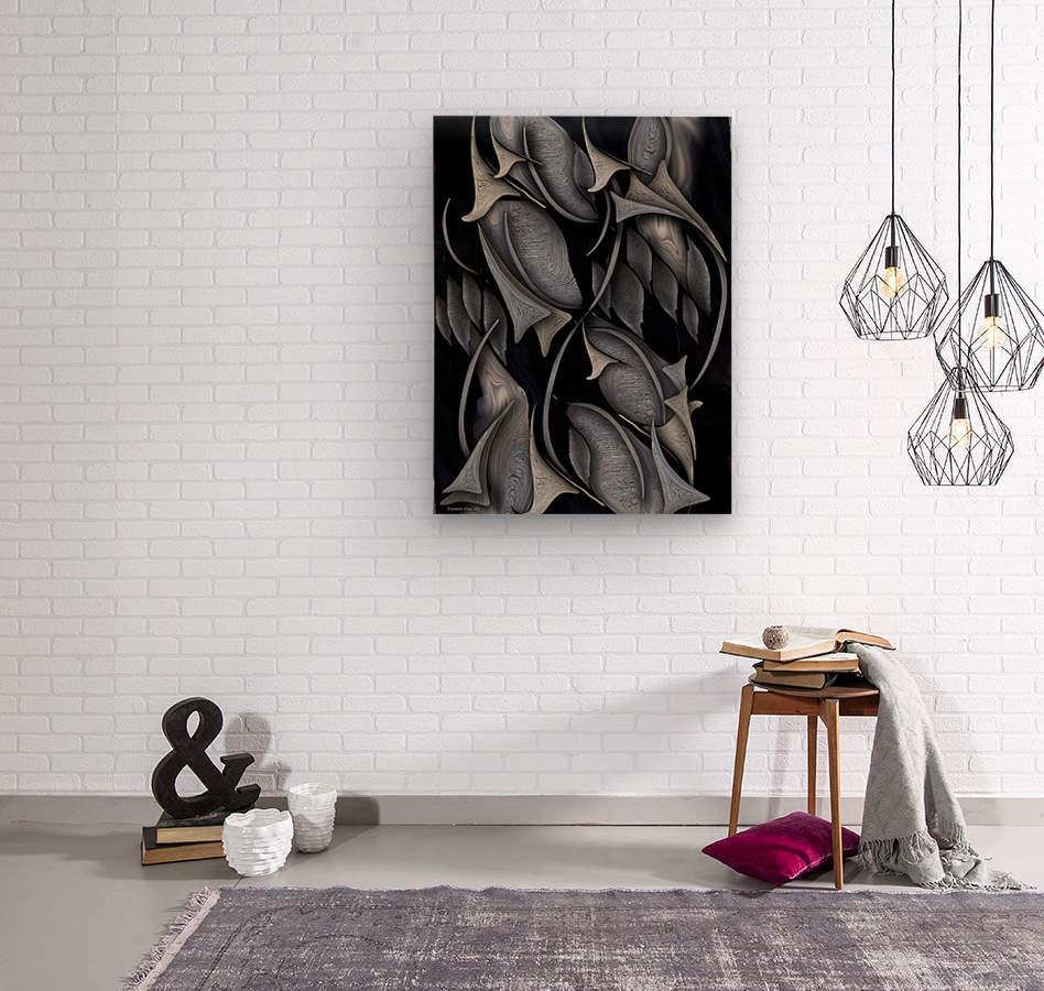 Indestructible Transformation Of Life  Wood print