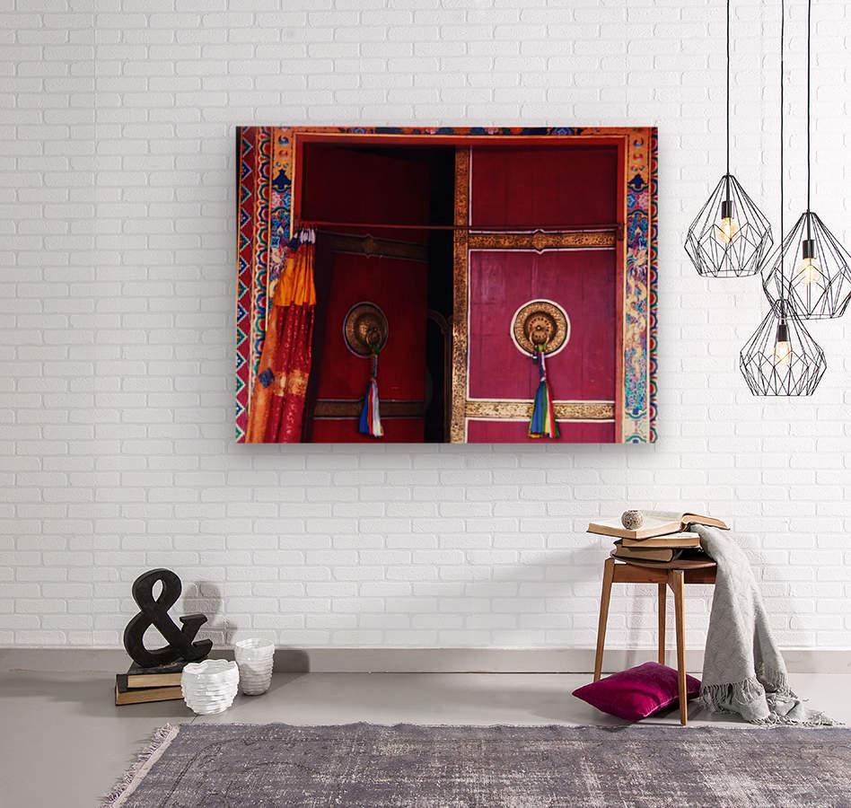 Beautiful door  Wood print