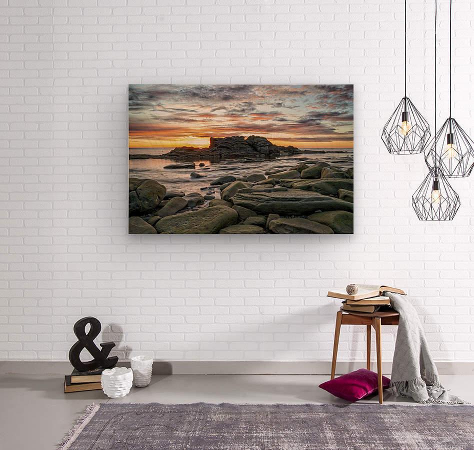 The Big Rock  Wood print