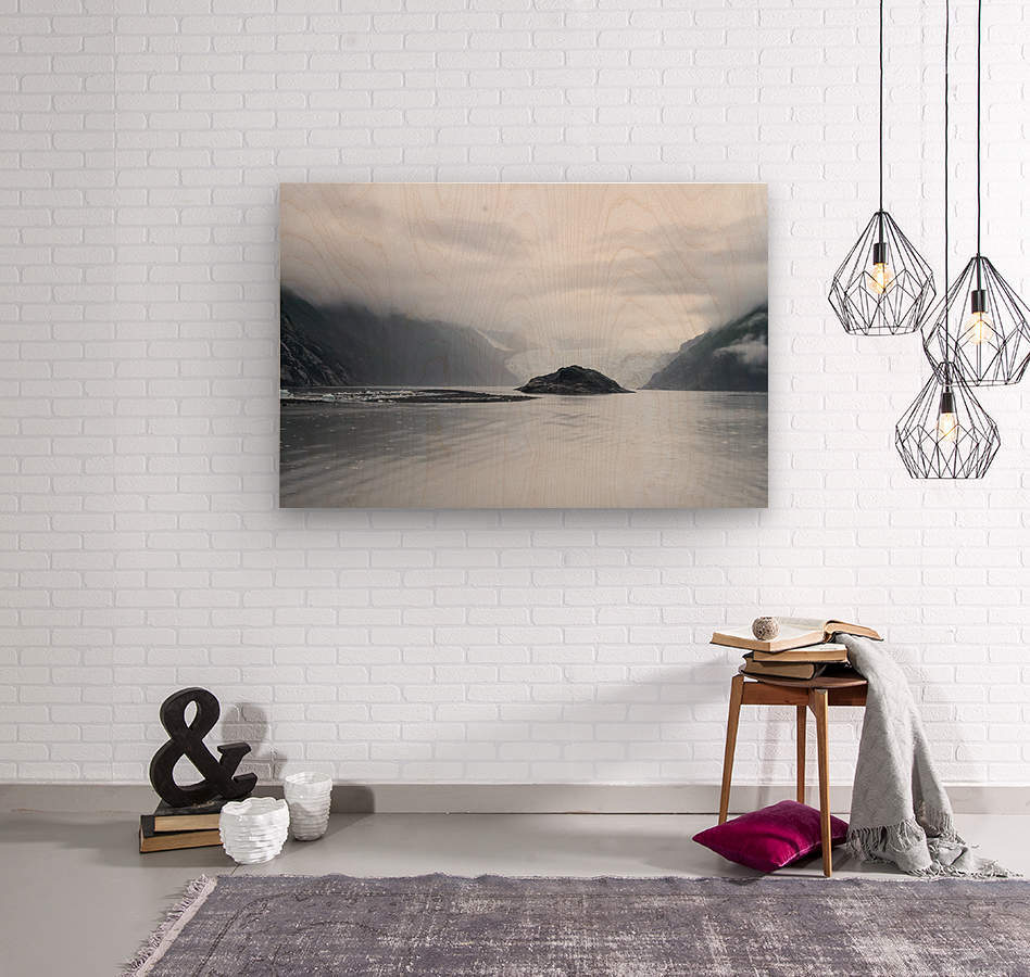 Alaska - Prince William Sound Photo  Wood print