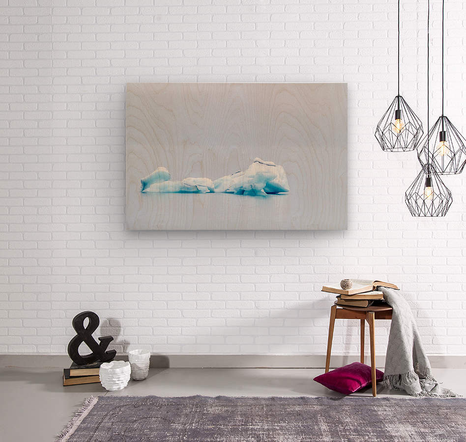 Iceberg Images - Alaska  Wood print