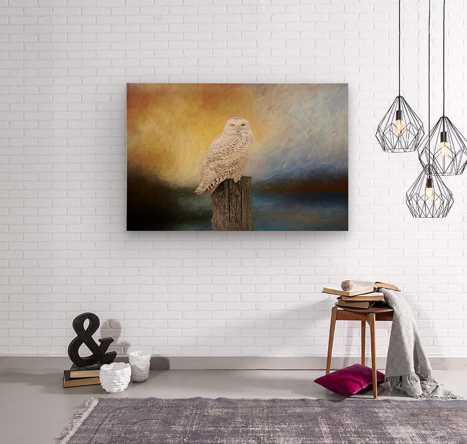 Impressions  Wood print