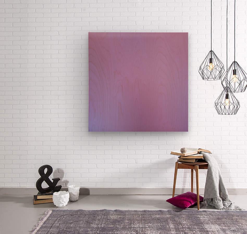 Pink Blurred Background  Wood print