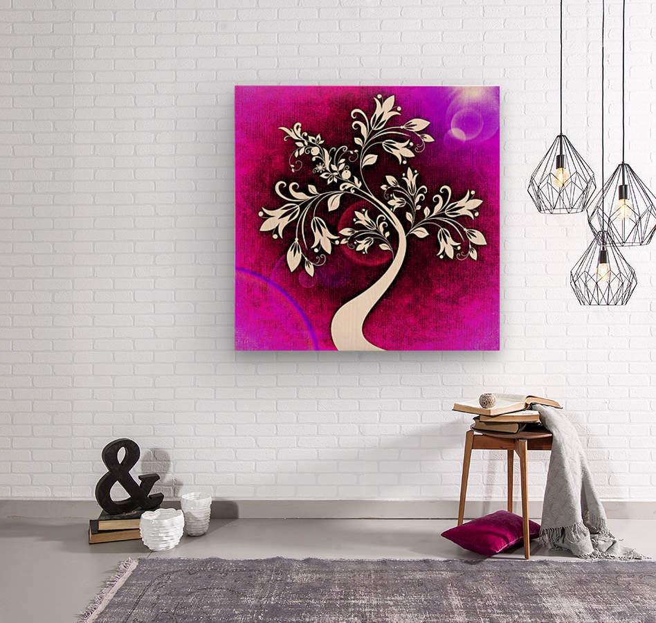 FLOWER TREE 04_OSG  Wood print