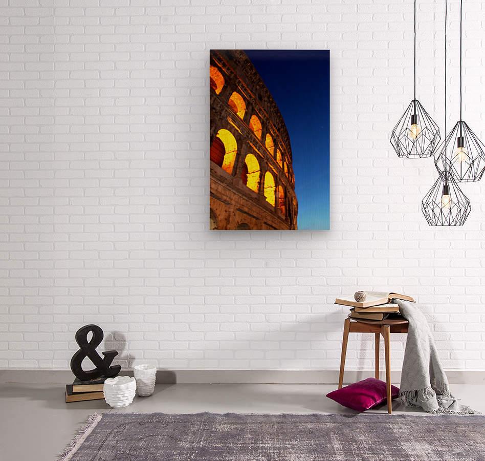 R O M E - Italy  Wood print