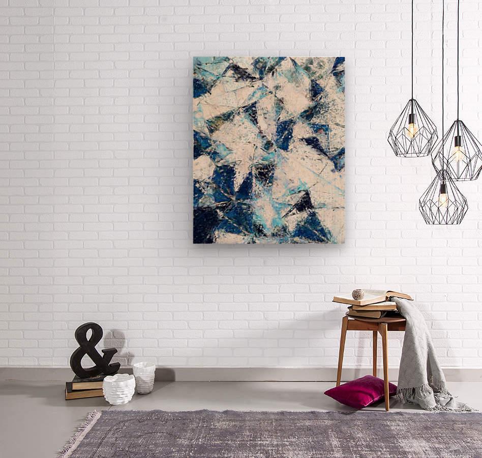 Exploding Panels  Wood print