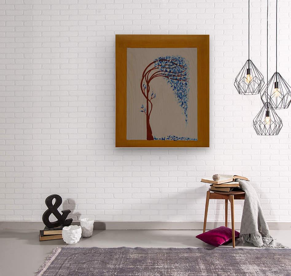 ahson qazi landscape (2)  Wood print
