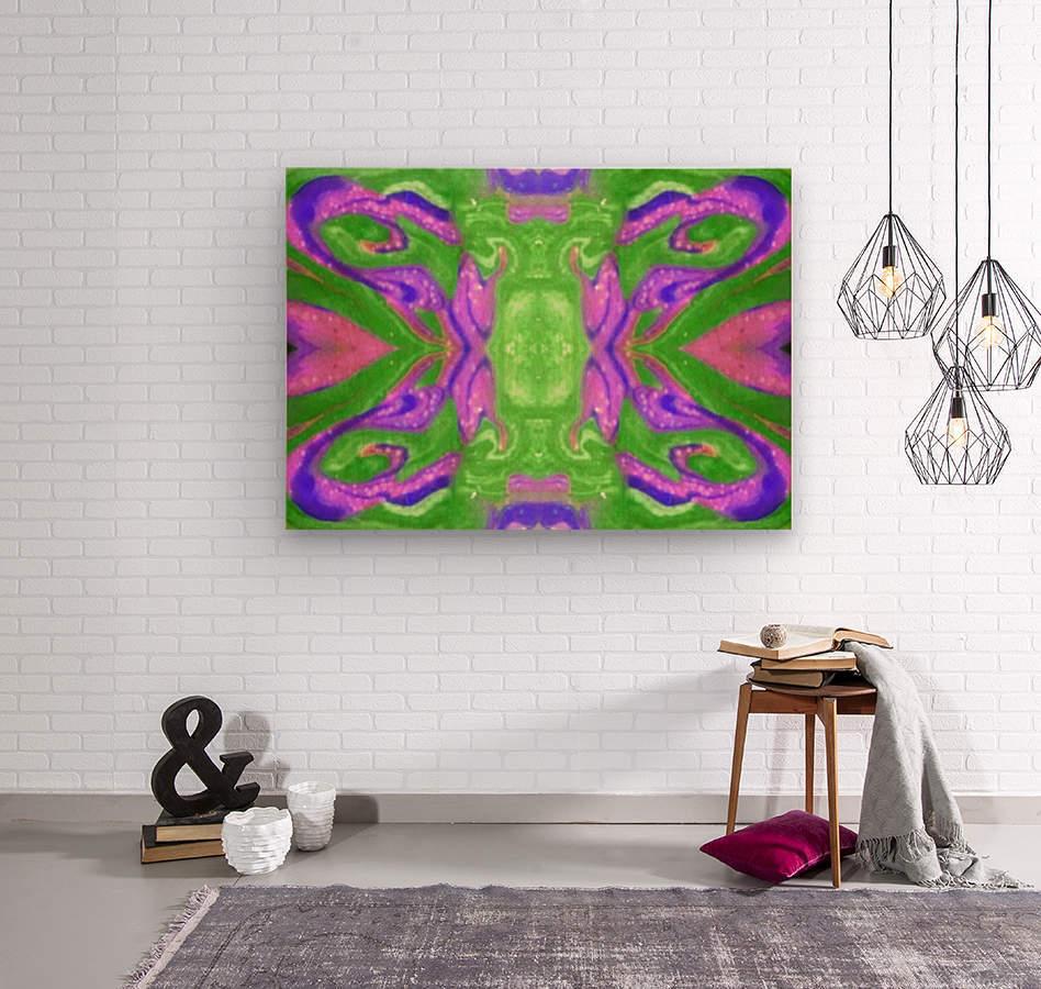 IkeWads135  Wood print