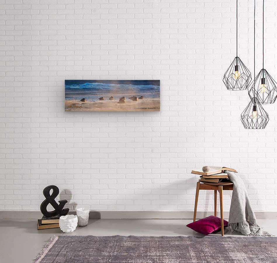 Canada Geese - APC-206  Wood print