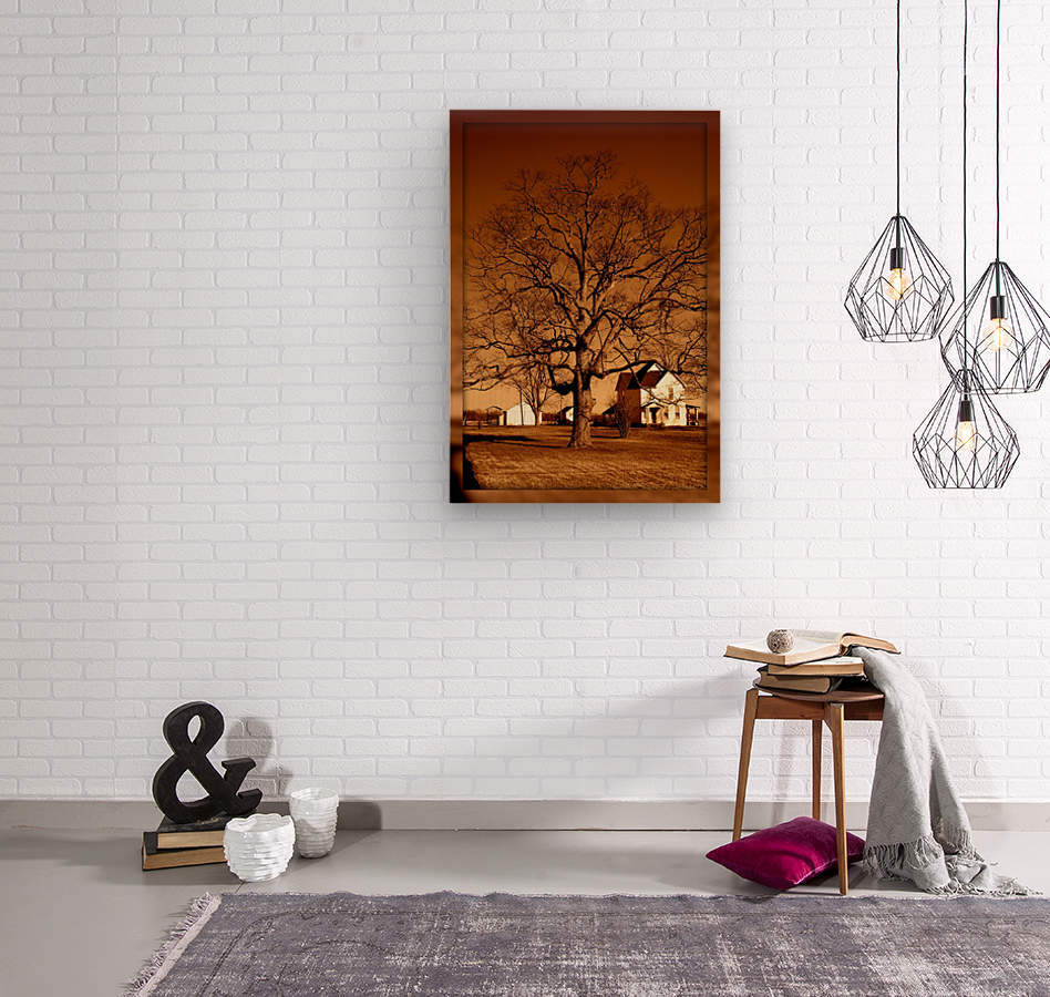 Magnificent Tree  Wood print