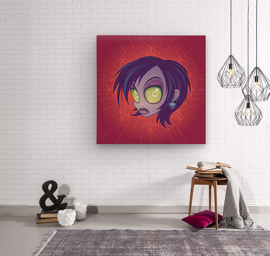 Living Dead Girl  Wood print