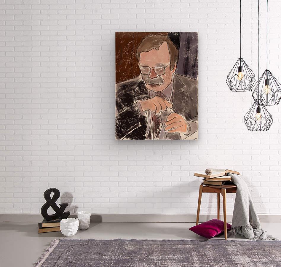Lexington Sandro  Wood print