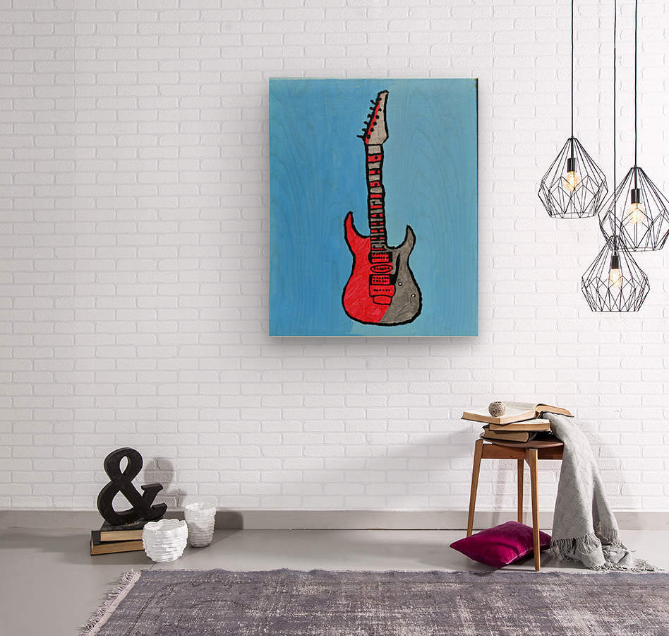 Rock N Roll. Glenn N.  Wood print