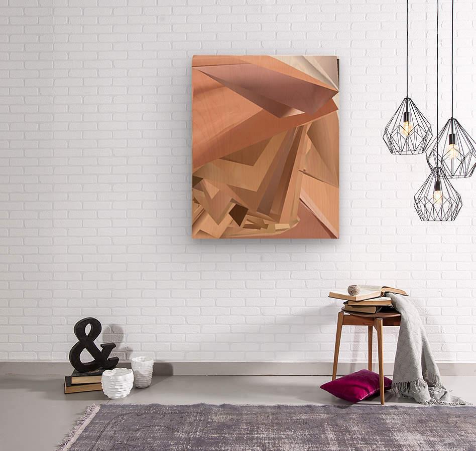 Art two  Wood print