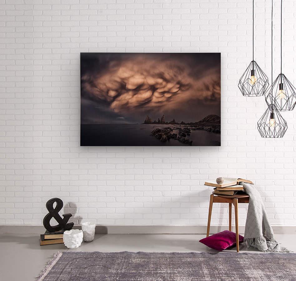 The Cloud  Wood print