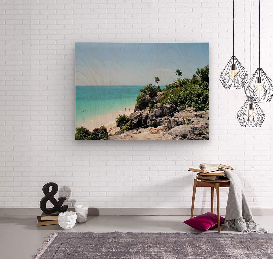 Tropical10  Wood print